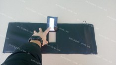 Утеплитель решетки радиатора ВАЗ 2107 (Люкс) мягкий черный