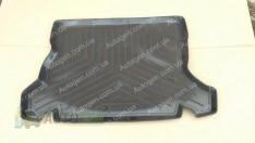 Коврик в багажник Opel Kadett SD/HB (1984-1991) (резино-пластик) (Nor-Plast)