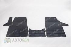 Коврики салона Volkswagen T6 (2015->) (3шт) (Stingray BG)