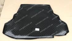 Коврик в багажник Mitsubishi Galant 9 SD (2006-2012) (резино-пластик) (Nor-Plast)