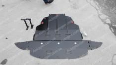 "Защита двигателя Ford Focus 2 (2004-2011) (бензин)  ""Titanium"""