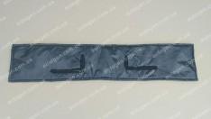 Утеплитель решетки радиатора ГАЗ Газель (1994-2003) квадратные фары (малый) мягкий черный