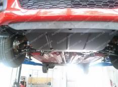 Защита двигателя Peugeot 107 (Обычная) (2005-2014)