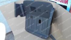 """Защита двигателя Renault Master 2 (1998-2010) (с ушами)  """"Titanium"""""""