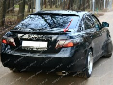 Спойлер багажника Toyota Camry 40 (2006-2011) (Design Lip) (стекловолокно)