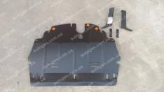"""Защита двигателя Skoda Fabia 2  (2007-2014)  """"Titanium"""""""