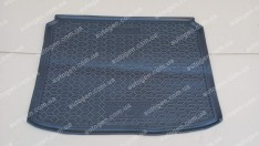 Коврик в багажник Peugeot 307 HB (2001-2008) (Avto-Gumm полимер-пластик)