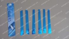 Auto clover Хром Накладки на наружные стойки Hyundai Santa Fe (2001-2006) KR Хром