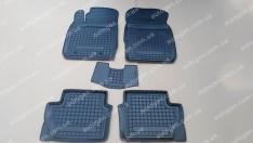 Коврики салона Hyundai H350 (1+1) (2014->) (3шт) (Avto-Gumm)