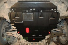 """Защита двигателя и радиатора Infiniti Q70 (Y51) 4WD (V-3.7) (2014->) """"Titanium"""""""