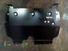 """Защита радиатора Infiniti QX56 (Z62) (2010-2013) """"Titanium"""""""