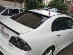 Ort-EU Козырек заднего стекла (бленда) Honda Civic SD (2006-2011) (стекловолокно Ort-EU)