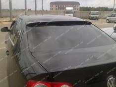 Ort-EU Козырек заднего стекла (бленда) Volkswagen Passat B6 SD (2005-2010) (стекловолокно Ort-EU)