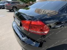 Спойлер багажника Volkswagen Passat B7 / B8 (2010-2019) (USA NMS) (Design Lip) (стекловолокно)