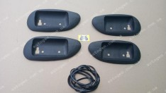 Накладки под ручки ВАЗ 2110, ВАЗ 2111, ВАЗ 2112 Пластик