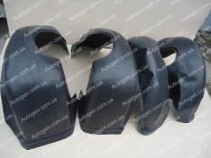 Подкрылки ВАЗ 2110, ВАЗ 2111, ВАЗ 2112 (4шт) (Mega-Locker)