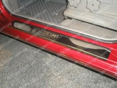 Накладки на пороги Chevrolet Tacuma (2000-2008) NataNiko