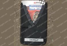 Брызговики универсальные Chevrolet ( 2шт.) (с надписью)