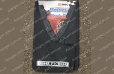 Брызговики универсальные Audi ( 2шт.) (с надписью)