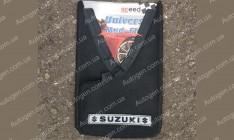 Брызговики универсальные Suzuki ( 2шт.) (с надписью)