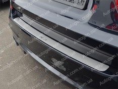 Накладка на бампер BMW X3 F25 (2010-2018) NataNiko ровная