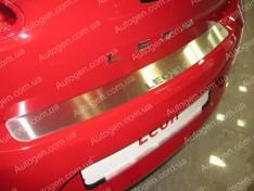 Накладка на бампер Seat Leon 2 (2005-2012) NataNiko ровная