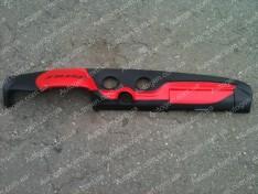 Накладка на панель ВАЗ 2106, ВАЗ 2103 красная