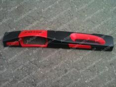 Накладка на панель ВАЗ 2108, ВАЗ 2109 низкая панель красная