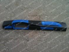 Накладка на панель ВАЗ 2108, ВАЗ 2109 низкая панель синяя