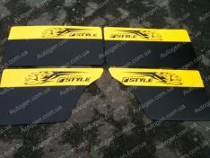 Обшивка дверей карты ВАЗ 2101, ВАЗ 2102, ВАЗ 2103, ВАЗ 2104, ВАЗ 2105, ВАЗ 2106, ВАЗ 2107 желтые