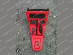Консоль под магнитофон ВАЗ 2101, ВАЗ 2102, ВАЗ 2103, ВАЗ 2104, ВАЗ 2105, ВАЗ 2106 красная