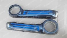 Акустические карманы дверей ВАЗ 2101, ВАЗ 2102, ВАЗ 2103, ВАЗ 2104, ВАЗ 2105, ВАЗ 2106, ВАЗ 2107 спорт синие 16