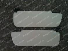 Солнцезащитные козырьки ВАЗ 2101, ВАЗ 2103, ВАЗ 2105, ВАЗ 2106, ВАЗ 2107 завод под жесткий потолок