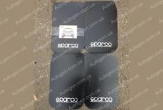 Брызговики универсальные Sparco (4шт) черные большие