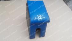 Подлокотник бар ВАЗ 2101, ВАЗ 2102, ВАЗ 2103, ВАЗ 2104, ВАЗ 2105, ВАЗ 2106, ВАЗ 2107 XXXL (20см) синий