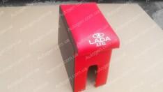 Подлокотник бар ВАЗ 2101, ВАЗ 2102, ВАЗ 2103, ВАЗ 2104, ВАЗ 2105, ВАЗ 2106, ВАЗ 2107 XXXL (20см) красный