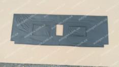 Утеплитель решетки радиатора ВАЗ 2104, ВАЗ 2105 (Люкс) мягкий черный