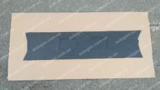 Утеплитель решетки радиатора ВАЗ 2101, ВАЗ 2102, ВАЗ Нива 2121, 21213 тайга (Люкс) мягкий черный