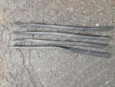 Уплотнители боковых опускных стекол (бархотка югославка нижняя) ВАЗ 2108, ВАЗ 2113