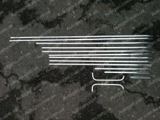 Молдинги кузова ВАЗ 2106, ВАЗ 2103 Хром металл