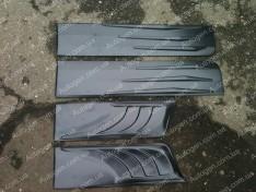 Молдинги дверей ВАЗ 2101, ВАЗ 2102,  ВАЗ 2103, ВАЗ 2104, ВАЗ 2105, ВАЗ 2106, ВАЗ 2107 (9340)
