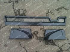 Юбка на бампер ВАЗ 2108, ВАЗ 2109 задняя (7100)