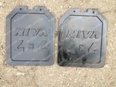 Брызговики ВАЗ Нива 2121, 21213 тайга (задние 2шт) (завод)