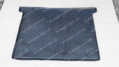 Коврик в багажник Fiat Doblo 2 (2010->) (7 мест) (короткая база) (Avto-Gumm Полиуретан)