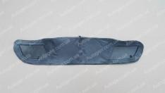 Утеплитель решетки радиатора Daewoo Lanos, Sens (малый) мягкий черный