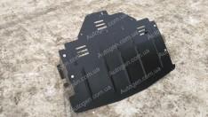 """Защита двигателя Renault Master 3 (2010->) (с ушами)    """"Titanium"""""""