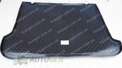 Nor-Plast Коврик в багажник Opel Combo C (2001-2011) (резино-пластик) (Nor-Plast)
