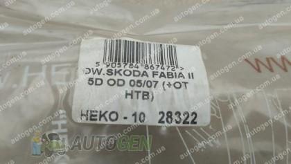 Heko Ветровики Skoda Fabia HB (2007-2014) (вставные) (Heko) (распродажа)