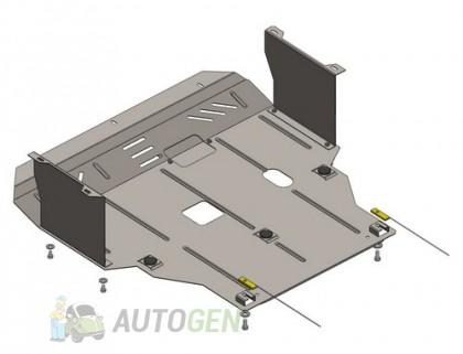 """Titanium Защита двигателя Lifan X60 (2011->)     """"Titanium"""""""