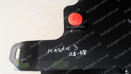 """Titanium DV Защита двигателя Mazda 3 (2003-2009) (обычная)  """"Titanium"""""""